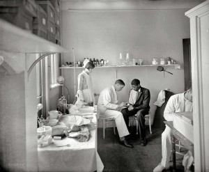 Emergency Room circa 1924
