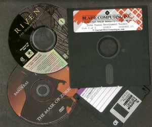 "Old Disks - 5.25"" and 3.5"" floppies, CD and DVD"