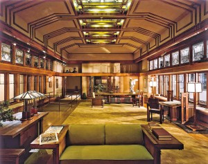 Frank Lloyd Wright room, Metropolitan Museum of Art