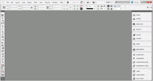 InDesign CS5 Interface