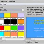Pantone ColorUp Palette Chooser