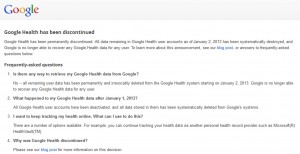 Google-Health-Discontinued